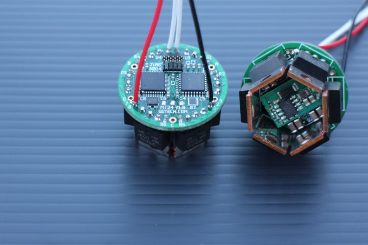 Micro-scale brushless motor controller